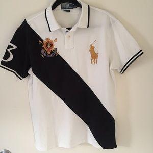 Polo ralph lauren black watch custom fit shirt